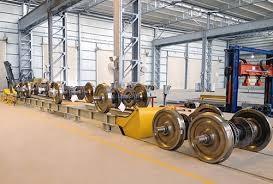 Sản xuất phụ tùng ,sửa chữa trục xe lửa