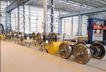 Đường ray cao dành cho việc tháo lắp cặp bánh xe (ETW - Elevated track for wheelset)